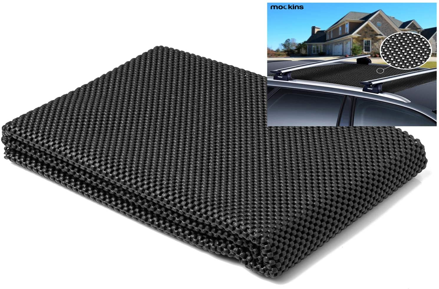 Mockins 39'' x 43'' Protective Vehicle Roof Mat, (MARMAT26)