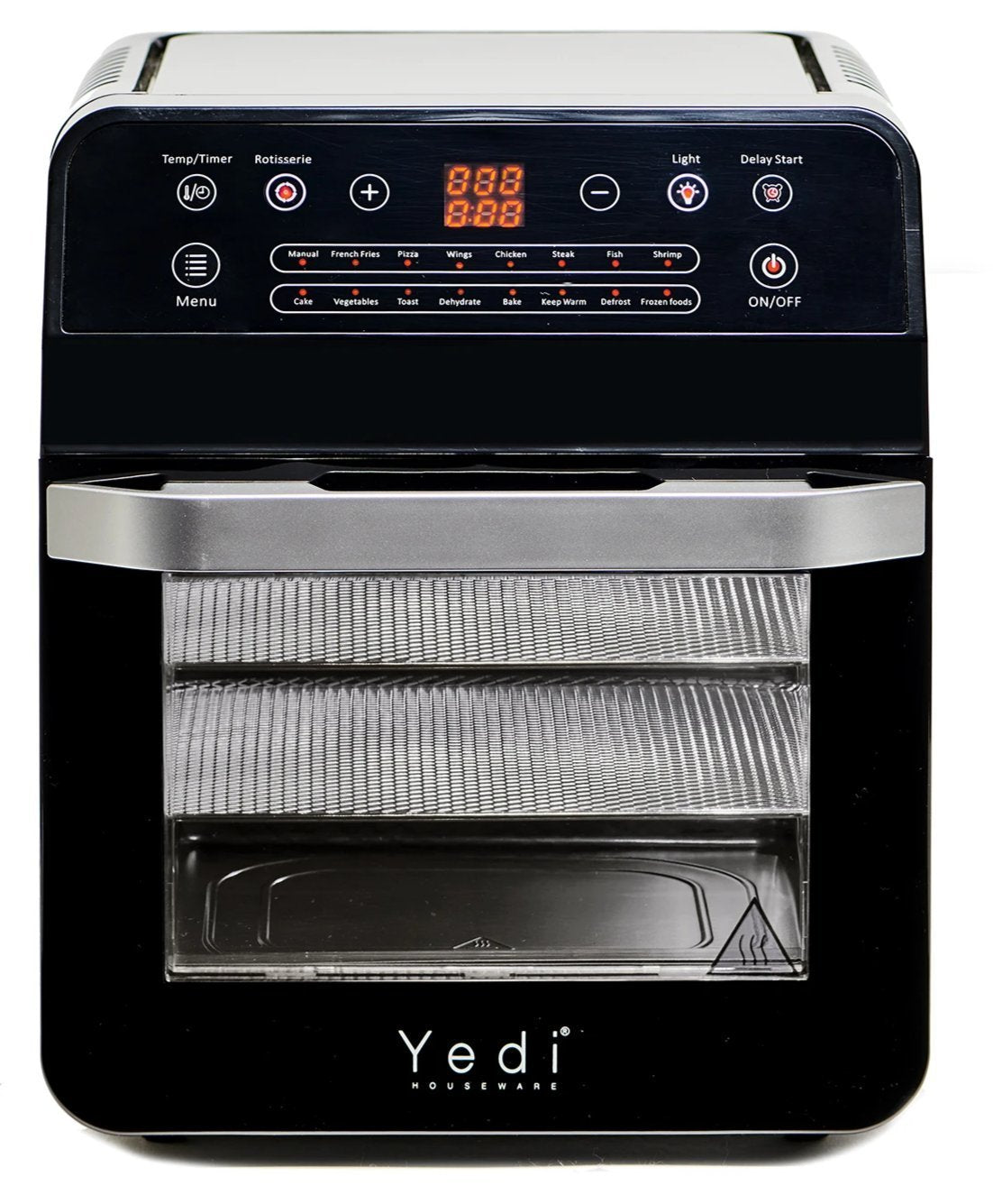 Yedi Air Fryer Rotisserie Oven XL, Dehydrator, Deluxe Accessory Kit (12.7 Qt)