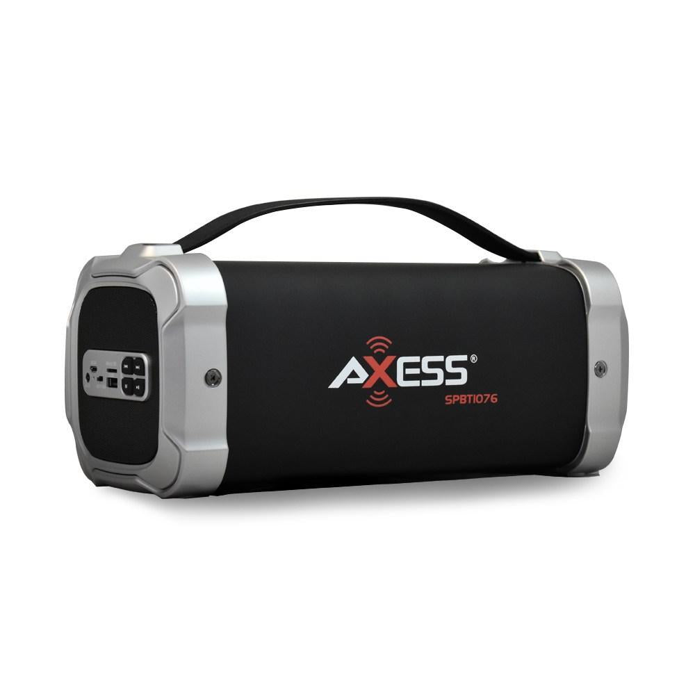 AXESS Bluetooth Media Speaker, Silver (SPBT1076)