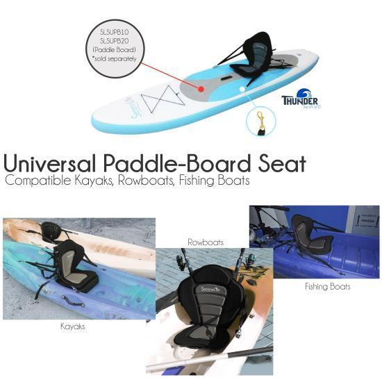 SereneLife Detachable Paddle-Board Seat (SLSUPST15)