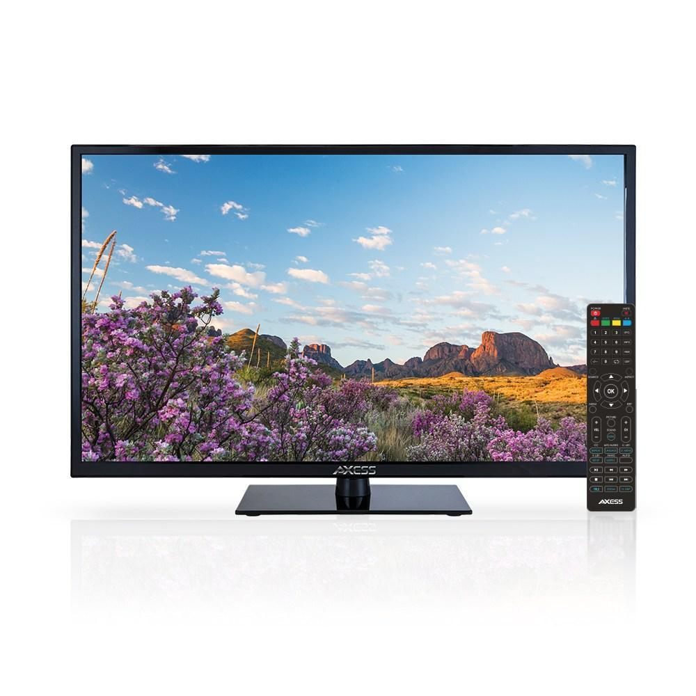 AXESS  40-Inch 1080p LED HDTV, Features VGA/3xHDMI/Headphone Inputs, Built-In Digital Speakers, Noise Reduction, Full Function Remote (TV1703-40)