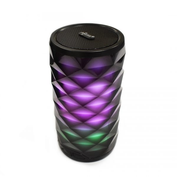 Bluetooth Crystal LED Speaker