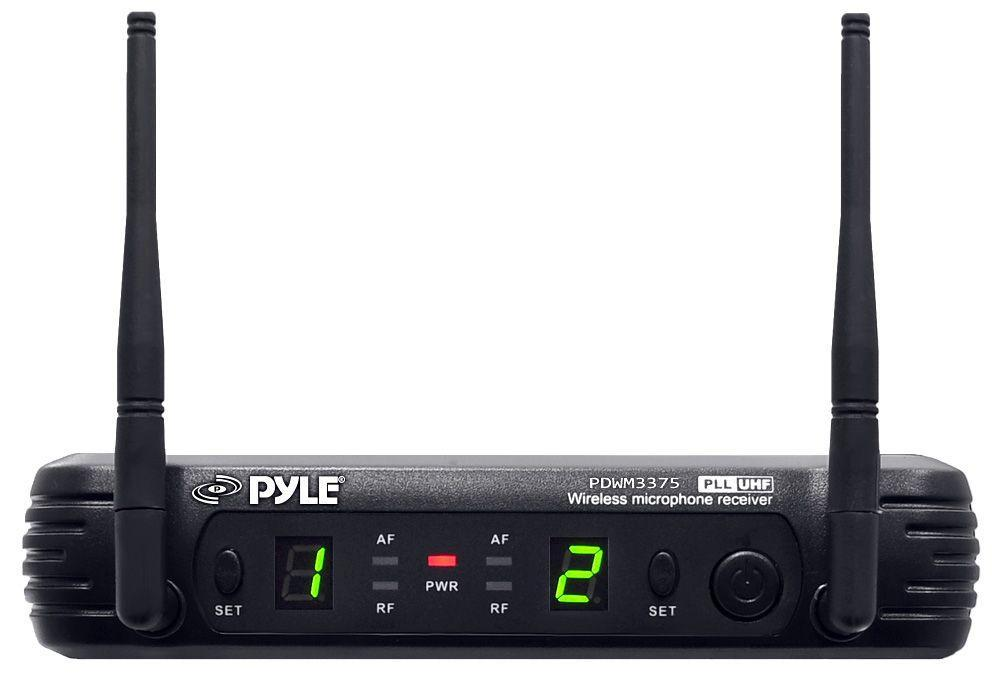 PylePro Wireless Handheld Microphone System With Selectable Frequencies (PDWM3375)