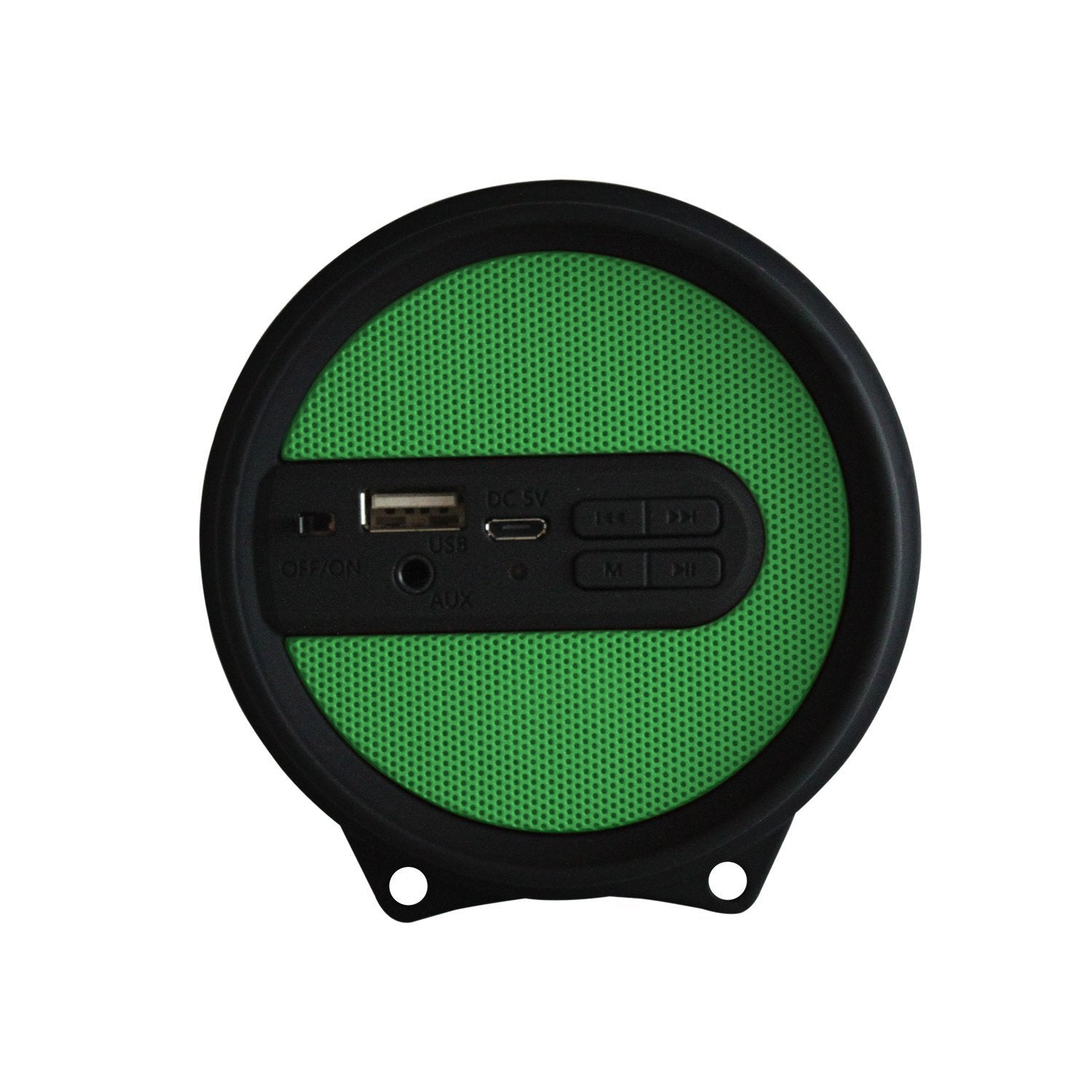 AXESS SPBL1043 Mini Portable Bluetooth Hi-Fi Bluetooth Speaker with Dancing LED Lights, Green