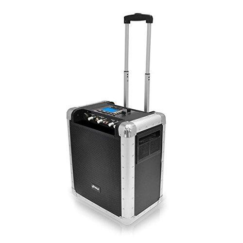 PylePro Battery Powered Portable PA System With USB/SD, DJ Controls, And Aux Inputs (PCMX265B)