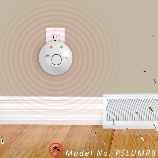 SereneLife Plug-in Electronic Mosquito Repeller (PSLUMR8)