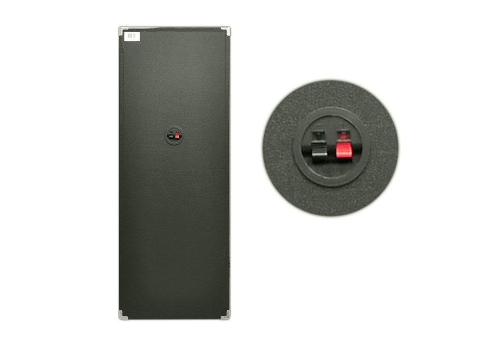 1000 Watts Disco Jam Passive Dual 10'' DJ Speaker System with Flashing DJ Lights (For Use With Model PSUFM1045A)