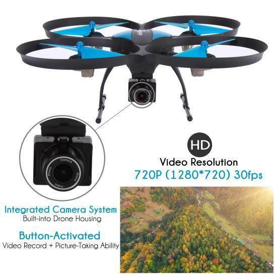 SereneLife 2.4Ghz WIFI Drone, HD Camera + Video Recording (SLRD42WIFI)