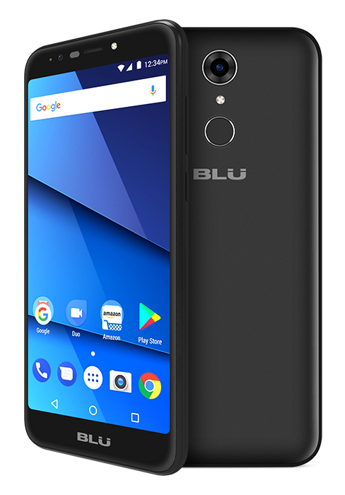 "BLU Studio View XL 5.7"" Curved HD Unlocked Dual-SIM Android w/Fingerprint Sensor & Accessories (S790Q)"