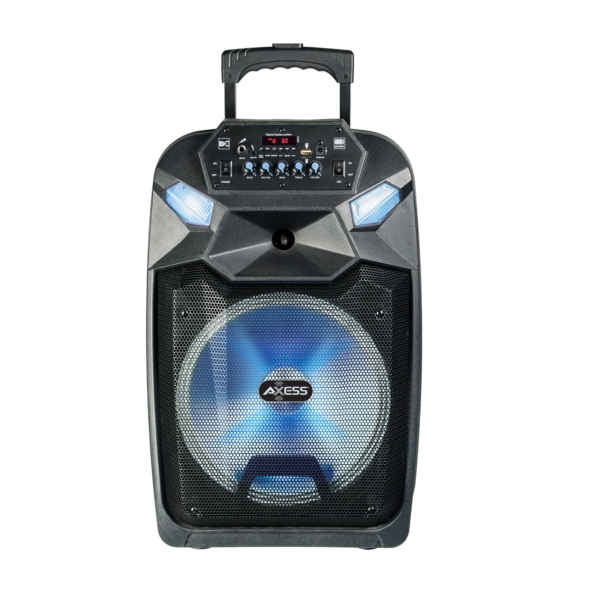 PABT6015 – 12″ Bluetooth Party Speaker with LED Lights