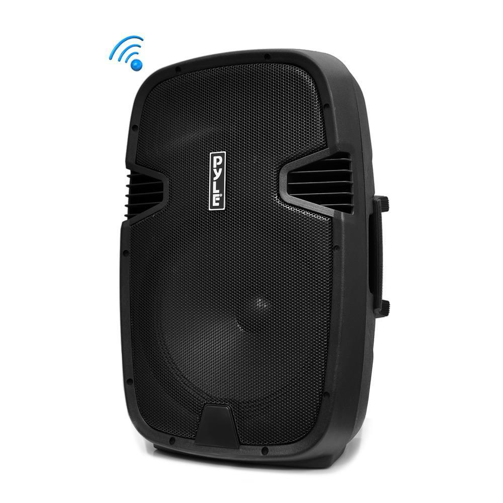 PylePro Portable Bluetooth PA Loudspeaker System, Built-in Rechargeable Battery, MP3/USB/SD Readers, FM Radio, 12'' Subwoofer, 800 Watt (PPHP122BMU)