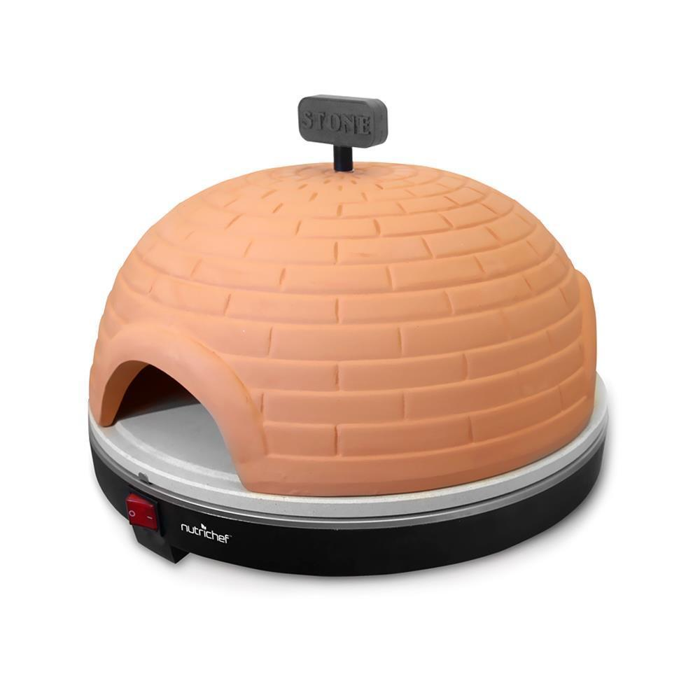 NutriChef Electric Pizza Pit Oven / Pizza Maker Stove (PKPZ950)