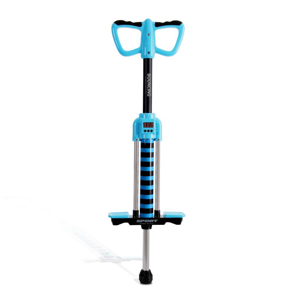 SereneLife Digital Pogo Stick, Bounce Counting Pogo Stick (JPS08BL)