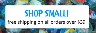 Shop Small! Free shipping on orders over $39!