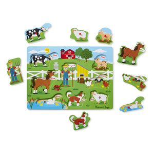 Old MacDonald's Farm Puzzle