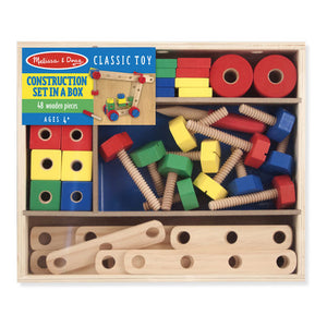 Construction Set in a Box by Melissa & Doug - Available at Little Lincoln's Toy Shop - Springfield, Illinois