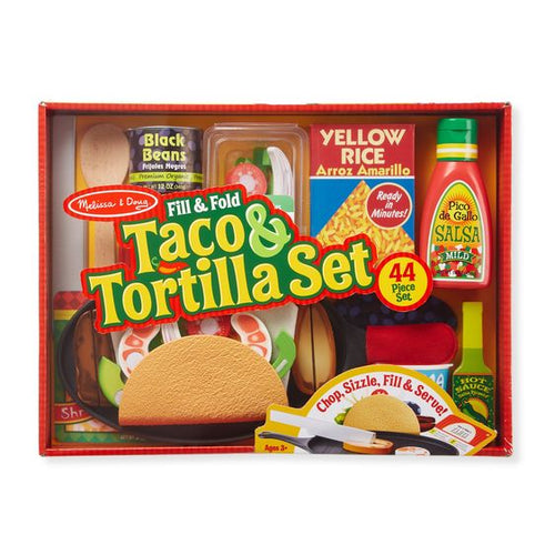 Melissa & Doug Taco & Tortilla Set - Available at Little Lincoln's Toy Shop - 3450 Liberty Drive - Toy store next to Sky Zone