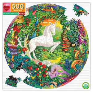 Image of Unicorn Garden Puzzle packaging