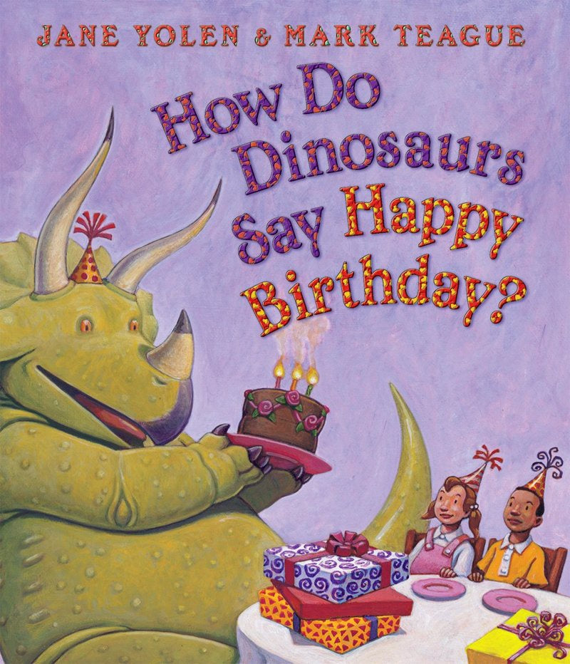 Image of How Do Dinosaurs Say Happy Birthday? Cover
