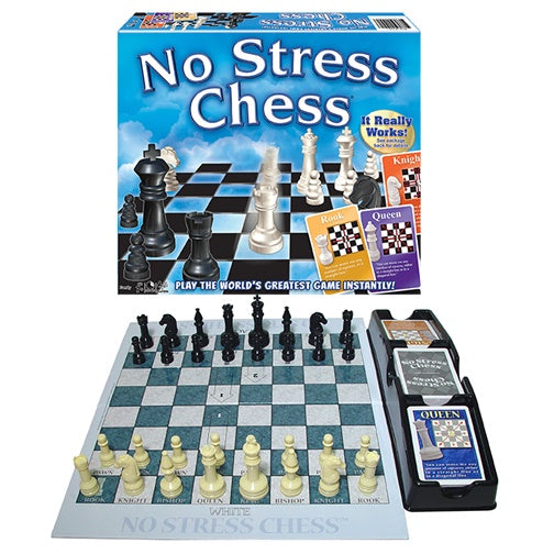 No Stress Chess packaging