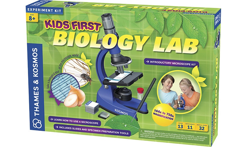 Image of Kids First Biology Lab packaging