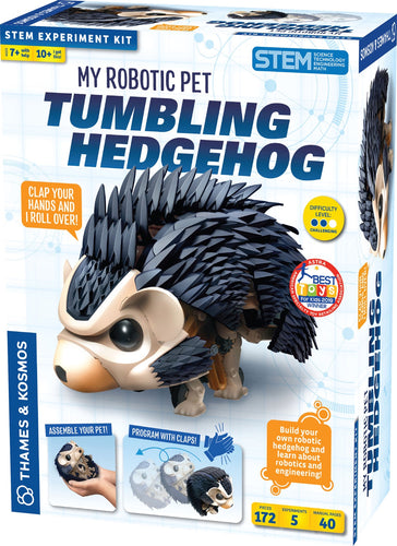 Image of Tumbling Hedgehog robot packaging