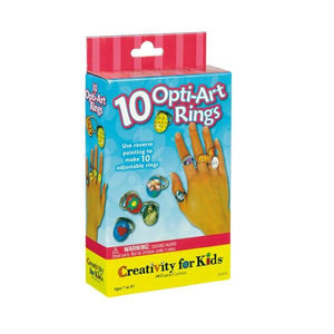 10 Pop Art Rings from Creativity for Kids