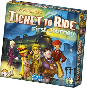 Image of Ticket to Ride First Journey packaging