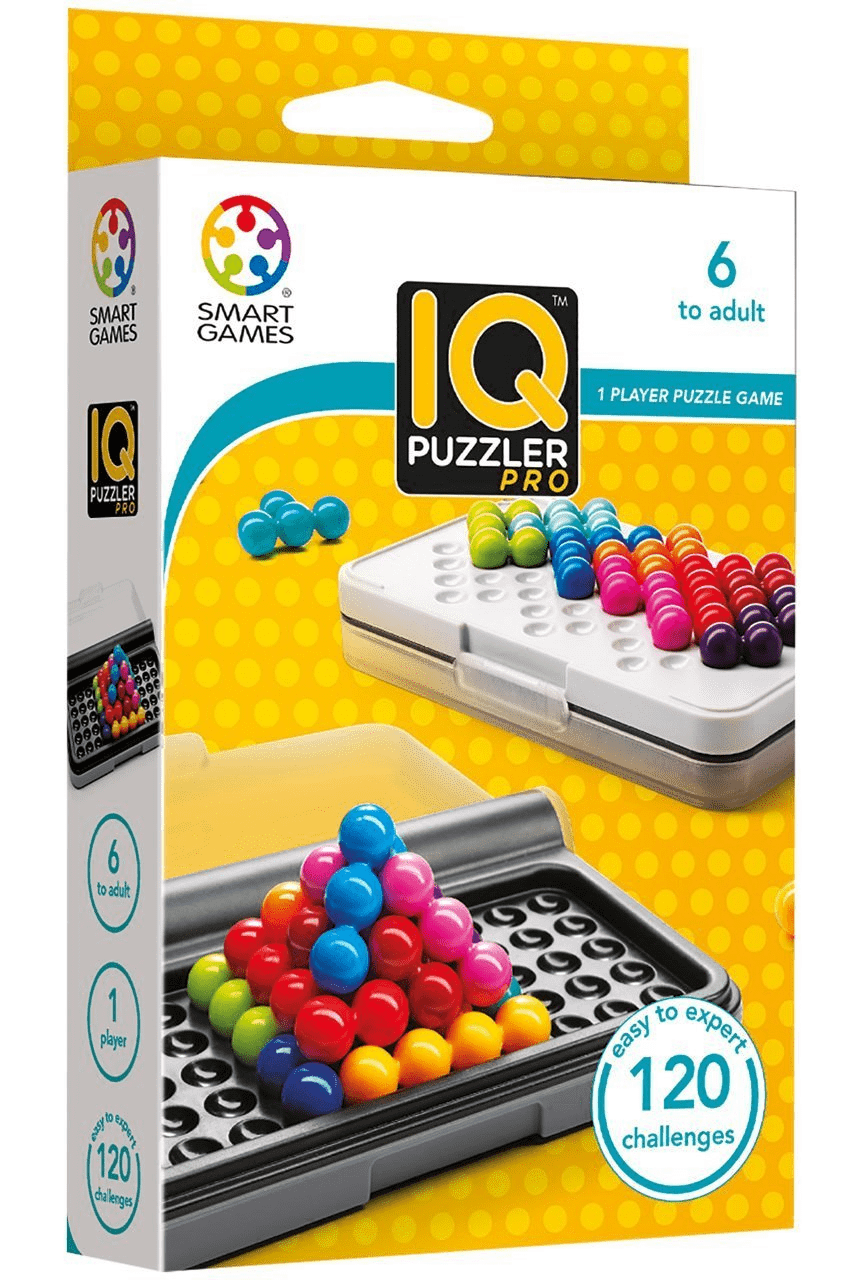 Image of IQ Puzzler Pro packaging