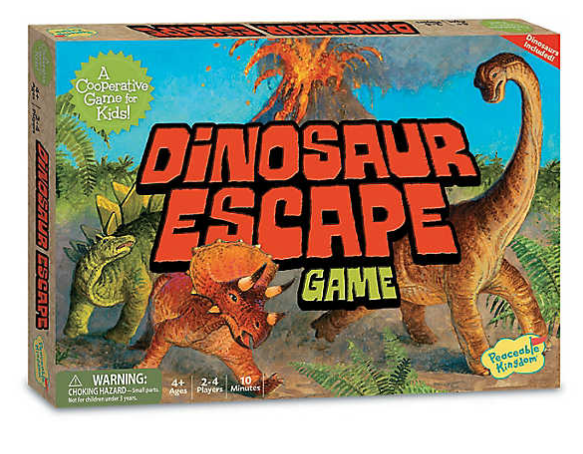 Image of Dinosaur Escape Game packaging