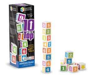 Image of 10 to the Top packaging