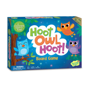 Hoot Owl Hoot! Board Game packaging