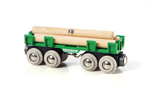 Image of Lumber Loading Wagon