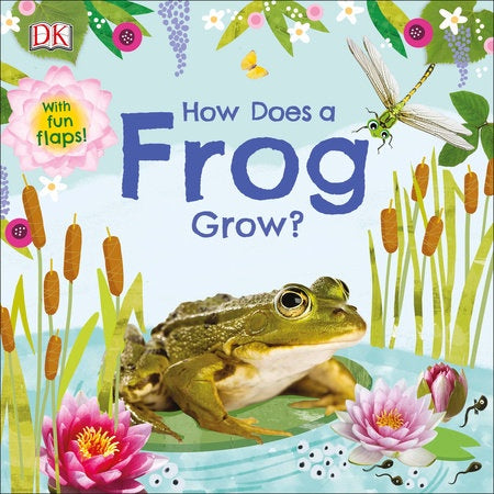 Image of How Does a Frog Grow? cover