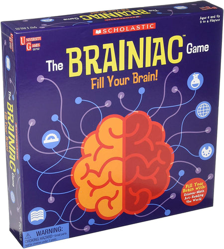 Image of The Brainiac Game Packaging