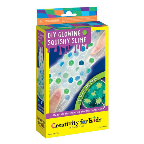 Image of DIY Glowing Squishy Slime