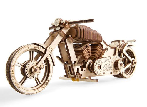 Image of completed UGears Bike VM-02 model