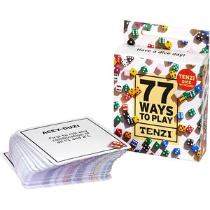 Image of 77 Ways to Play Tenzi