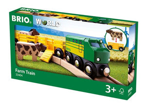 BRIO Farm Train - Springfield, Illinois - Available at Little Lincoln's Toy Shop