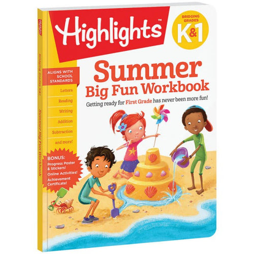 Image of Highlights Summer Big Fun Workbook book cover