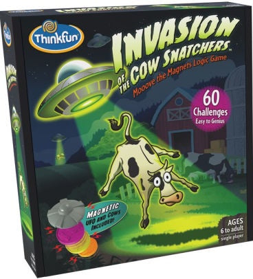 Image of Invasion of the Cow Snatchers Packaging