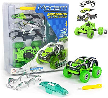 Image of Modarri Space Invaders Monster Truck and Packaging