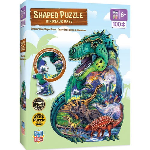 Image of Dinosaur shaped puzzle