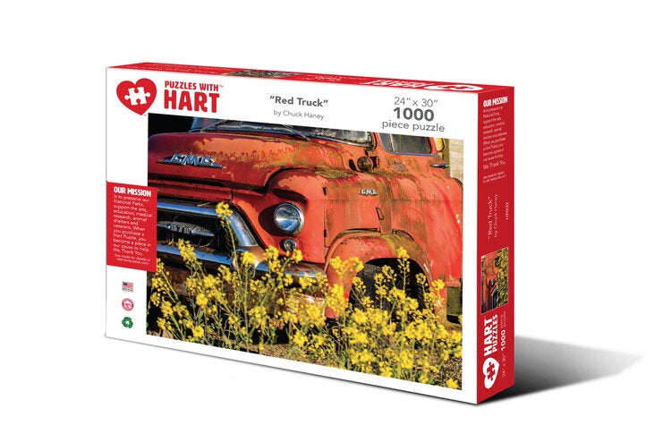 Image of 1000 PC Red Truck