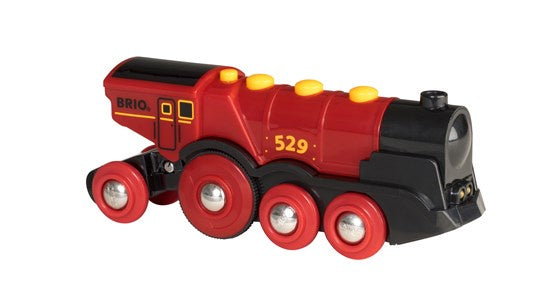 Image of Mighty Red Action Locomotive