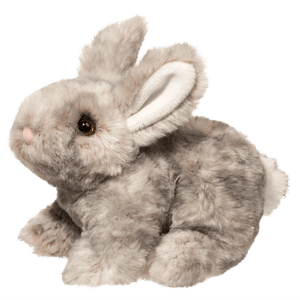 Image of Tyler Grey Bunny plush