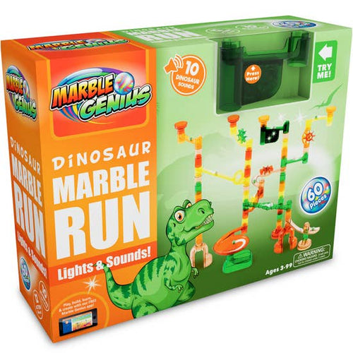 Image of Dinosaur Marble Run packaging