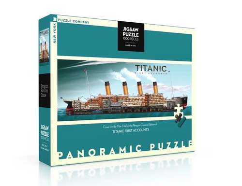 Image of Titanic Jigsaw Puzzle Packaging