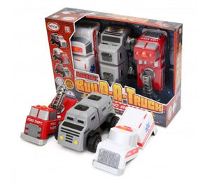 Image of Magnetic Build a Truck Fire and Rescue