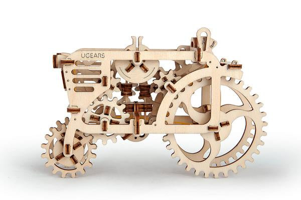 Image of UGears tractor assembled